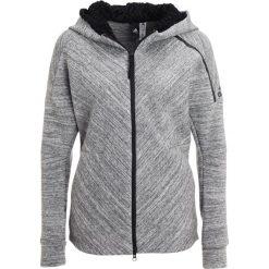 Adidas Performance Z.N.E. TRAVEL Bluza rozpinana storm heather. Szare bluzy damskie adidas Performance, xl, z bawełny. W wyprzedaży za 412,30 zł.