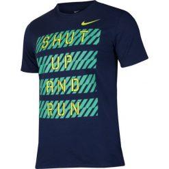 Nike Koszulka męska Dry Tee DBL Finish Line M granatowa r. L (831887-429). Szare koszulki sportowe męskie Nike, l. Za 117,83 zł.