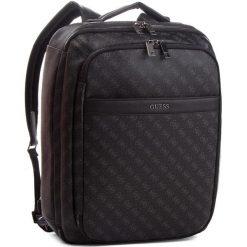 Plecak GUESS - HM6359 POL81  BLA. Czarne plecaki męskie marki Guess, z aplikacjami, ze skóry ekologicznej. W wyprzedaży za 669,00 zł.