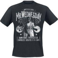 T-shirty męskie z nadrukiem: American Gods Mr. Wednesday T-Shirt czarny