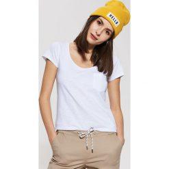 T-shirty damskie: T-shirt z krótkim rękawem – Biały