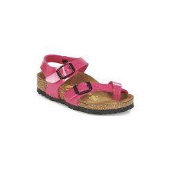Sandały Dziecko  Birkenstock  TAORMINA. Czerwone sandały dziewczęce Birkenstock. Za 207,20 zł.