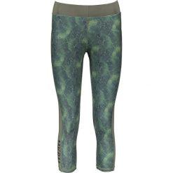 Legginsy: Legginsy funkcyjne w kolorze zielono-turkusowym