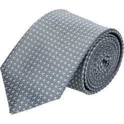 Krawaty męskie: krawat platinum szary classic 214