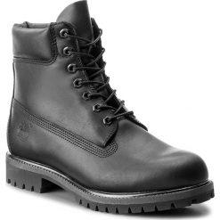 Trapery TIMBERLAND - 6 In Premium Boot A1MA6/TB0A1MA60011 Blk. Czarne glany męskie marki Timberland, z gumy. W wyprzedaży za 629,00 zł.