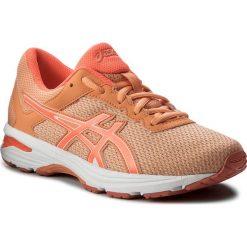 Buty ASICS - GT-1000 6 Gs C740N Apricot Ice/Flash Coral/Canteloupe 9506. Brązowe buty do biegania damskie Asics, z materiału. W wyprzedaży za 189,00 zł.