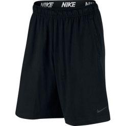 Spodenki Nike Training Short (842267-010). Czarne spodenki sportowe męskie Nike, z bawełny, sportowe. Za 99,99 zł.