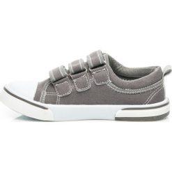 Chłopięce trampki GRACE. Szare buty sportowe chłopięce HASBY, sportowe. Za 39,95 zł.