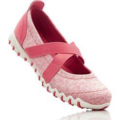 Baleriny sportowe bonprix koralowy melanż. Czerwone baleriny damskie bonprix, melanż. Za 37,99 zł.