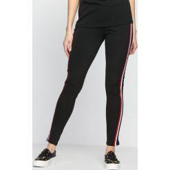 Spodnie damskie: Czarne Spodnie Dresowe Don't It
