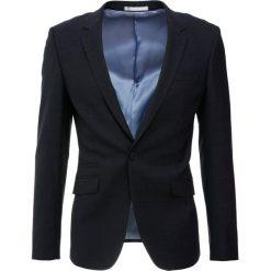 Marynarki męskie slim fit: Topman FABIO Marynarka dark blue