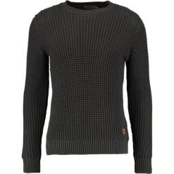 Swetry męskie: Jack & Jones JORBRICK CREW NECK Sweter asphalt