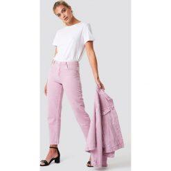 MANGO Jeansy Malva - Pink. Różowe boyfriendy damskie Mango, z jeansu. Za 161,95 zł.