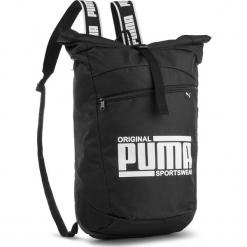 Plecak PUMA - Sole Backpack 075435 Puma Black 01. Czarne plecaki męskie Puma, z materiału. W wyprzedaży za 129,00 zł.