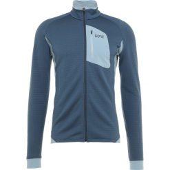 Gore Wear THERMO Kurtka z polaru deep water blue/cloudy blue. Niebieskie kurtki trekkingowe męskie Gore Wear, m, z elastanu. Za 589,00 zł.