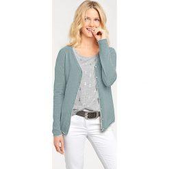Odzież damska: Kardigan w kolorze zielonym