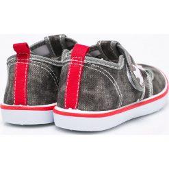 American Club - Tenisówki dziecięce. Szare buty sportowe chłopięce American CLUB, z materiału. W wyprzedaży za 27,90 zł.