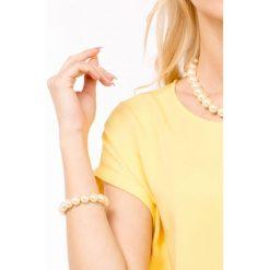 Bransoletki damskie: Bransoletka z perłowymi koralami