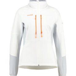 Bergans VISBRETIND Kurtka Softshell  white/alu/pumpkin. Białe kurtki sportowe damskie Bergans, s, z elastanu. W wyprzedaży za 251,70 zł.