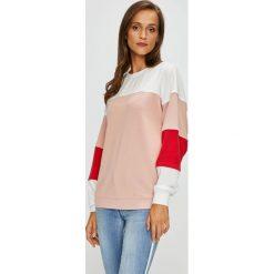 Only - Bluza Gigi. Szare bluzy damskie marki ONLY, s, z bawełny, casualowe, z okrągłym kołnierzem. W wyprzedaży za 99,90 zł.