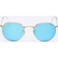 Okulary przeciwsłoneczne męskie: Ray-Ban – Okulary Round Metal