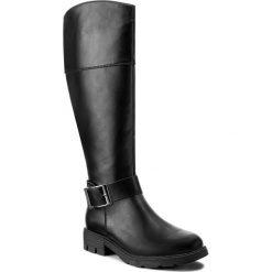 Oficerki JENNY FAIRY - WS17375-21 Czarny. Czarne buty zimowe damskie marki Jenny Fairy, ze skóry ekologicznej, na obcasie. Za 149,99 zł.