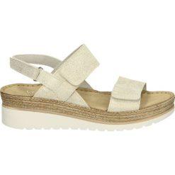 Sandały damskie: Sandały - 10805 GRA BIA