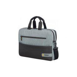 """Torba na laptopa American Tourister15,6"""" City Drift czarno-szara. Czarne torby na laptopa American Tourister, z tkaniny. Za 114,99 zł."""