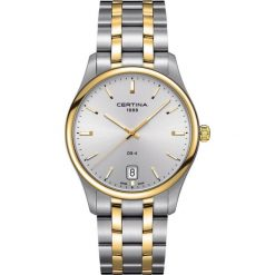 PROMOCJA ZEGAREK CERTINA DS-4 BIG SIZE C022.610.22.031.00. Szare zegarki męskie CERTINA, ze stali. W wyprzedaży za 1755,60 zł.