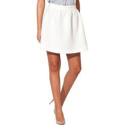 Odzież damska: Spódnica Kartus w kolorze białym