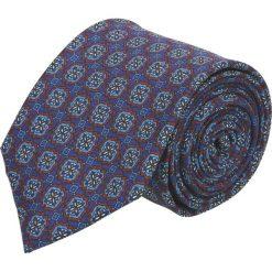 Krawat platinum granatowy classic 254. Niebieskie krawaty męskie Recman. Za 49,00 zł.