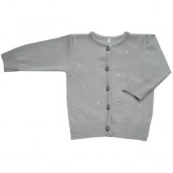 EKO Sweter Dziewczęcy 104 Jasnoszary. Czerwone swetry dziewczęce marki bonprix, z okrągłym kołnierzem. Za 85,00 zł.