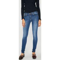 Levi's - Jeansy 710. Brązowe rurki damskie Levi's®, z bawełny. Za 329,90 zł.