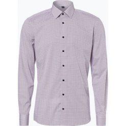 Koszule męskie na spinki: Eterna Slim Fit – Koszula męska łatwa w prasowaniu, niebieski