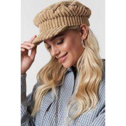 MANGO Czapka Ale - Beige. Brązowe czapki zimowe damskie Mango, z materiału. Za 80,95 zł.