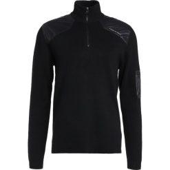 Swetry klasyczne męskie: Porsche Design Sport by adidas KNIT JUMPER Sweter black