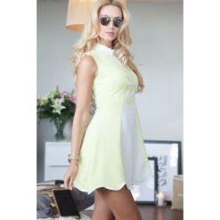 Sukienki: Sukienka Cytryna 9654