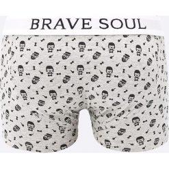 Brave Soul - Bokserki (3-pack). Białe bokserki męskie marki WED'ZE, z elastanu. W wyprzedaży za 59,90 zł.