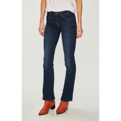 Levi's - Jeansy. Brązowe jeansy damskie bootcut marki Levi's®, z obniżonym stanem. Za 369,90 zł.