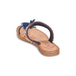 Japonki Molly Bracken  BLIETTE. Niebieskie crocsy damskie marki Molly Bracken. Za 207,20 zł.