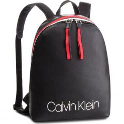 Plecak CALVIN KLEIN - Collegic Backpack K60K604455 001. Czarne plecaki damskie Calvin Klein, ze skóry ekologicznej, eleganckie. Za 649,00 zł.