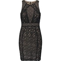 Laona Sukienka etui jet black/pale beige. Czarne sukienki marki Laona, z materiału. Za 709,00 zł.