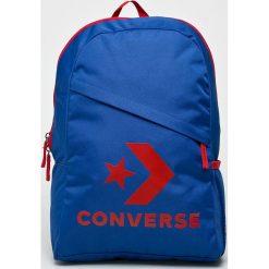 Converse - Plecak. Niebieskie plecaki męskie Converse, z poliesteru. Za 129,90 zł.