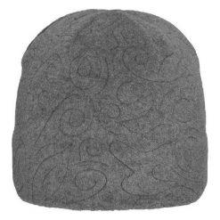 Czapki damskie: Viking Czapka damska Regular szara (212/13/2321)