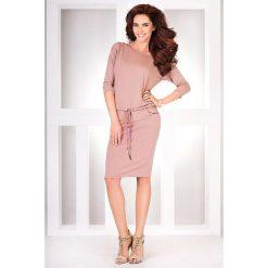 Sukienki: Cher Sukienka sportowa – beżowa