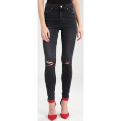 Topshop RIP JAMIE NEW Jeans Skinny Fit washed black. Czarne boyfriendy damskie Topshop. Za 239,00 zł.