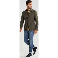 Koszule męskie na spinki: Gant Rugger FALL MADRAS SLIM FIT Koszula palm leaf