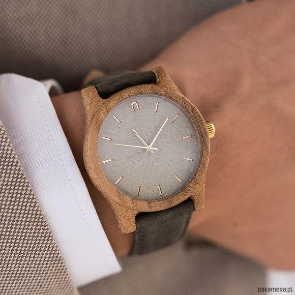 b097652d459bcd Drewniany zegarek męski classic 43 mm n021 - Brązowe zegarki damskie  Pakamera. Za 339,00 zł. - Zegarki damskie - Biżuteria i zegarki damskie -  Biżuteria i ...