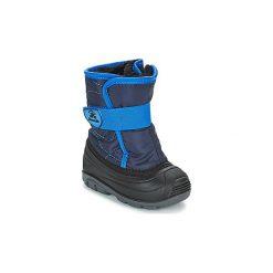 Śniegowce Dziecko KAMIK  SNOWBUG 3. Niebieskie buty zimowe chłopięce Kamik. Za 229,00 zł.
