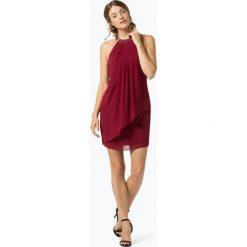 Marie Lund - Elegancka sukienka damska, czerwony. Niebieskie sukienki balowe marki Marie Lund, z szyfonu. Za 399,95 zł.